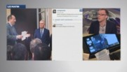 La démission de Jean-Marc Ayrault saluée par une avalanche de selfies.