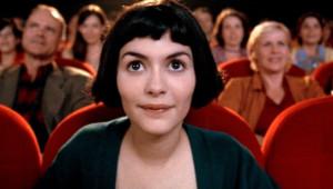 Audrey Tautou dans le film Le Fabuleux Destin d'Amélie Poulain de Jean-Pierre Jeunet