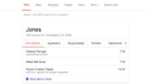 Connaître le plat du jour de son restaurant préféré rendu possible par Google ?