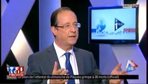 """Hollande : """"Il y aura un rassemblement de la gauche"""""""