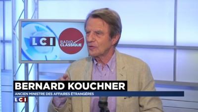 """Kouchner dénonce ces """"salauds"""" qui abandonnent les migrants"""