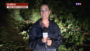 """Le 20 heures du 3 janvier 2014 : La R�ion : """" Des renforts commencent �rriver de m�opole"""" - 356.4080151977539"""