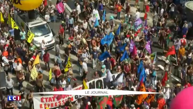 Loi Travail : la manifestation autorisée entre Bastille et Place d'Italie
