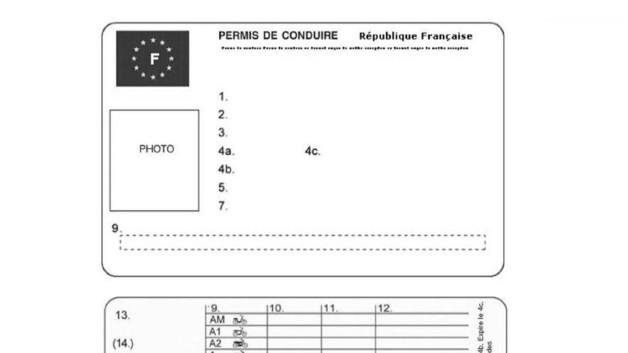 news automoto voici les nouveaux permis de conduire et deux roues pour 2013 mytf1. Black Bedroom Furniture Sets. Home Design Ideas
