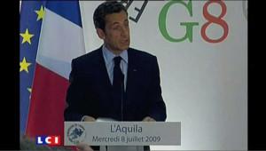 Sarkozy ferme face à l'Iran