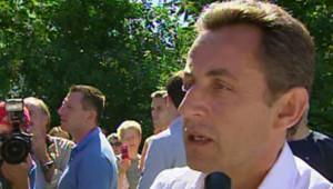 TF1/LCI - Nicolas Sarkozy le 5 août 2007