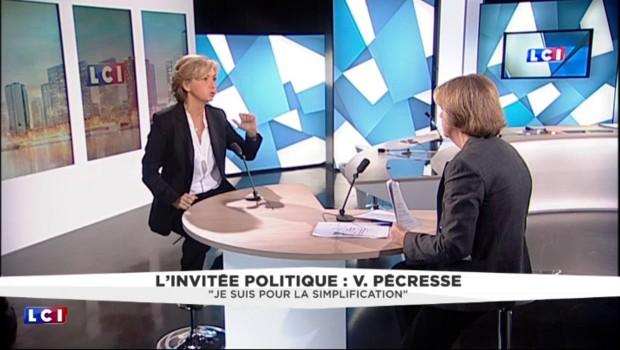 """Valérie Pécresse : """"Mettre la formation en face des emplois"""""""