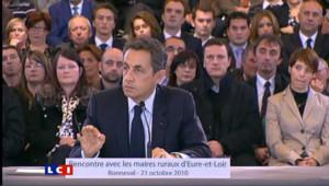 """Sarkozy : """"C'est pas les casseurs qui auront le dernier mot"""""""