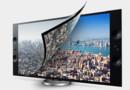 Une télévision ultra HD présentée par Sony au salon CES 2013
