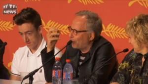 """Cannes : Luchini fait le show, """"Je hais les apéritifs"""""""