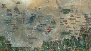 Carte du Burkina Faso