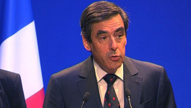 Fillon point presse le 18 août 2008