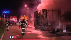 Firminy : un centre commercial incendié