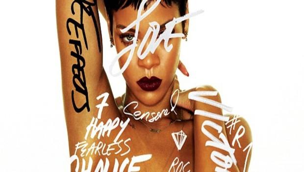 """La pochette du nouvel album de Rihanna """"Apologetic"""", dévoilée sur son Twitter le 11 octobre 2012"""