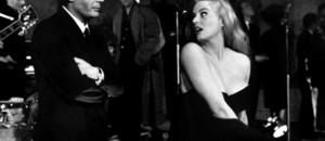 Marcello Mastroianni et Anita Ekberg dans La Dolce Vita de Federico Fellini