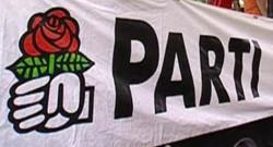 PS parti socialiste rose