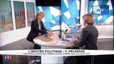"""Valérie Pécresse : """"On a une population qui prend le RSA comme une allocation"""""""