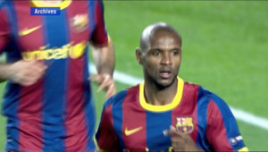 Eric Abidal Barça football