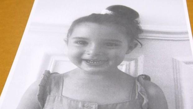 La fillette qui serait partie en Syrie avec son père.
