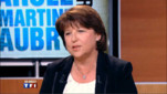 "Martine Aubry invitée de ""Parole Directe"" sur TF1, le 16 juin 2011"