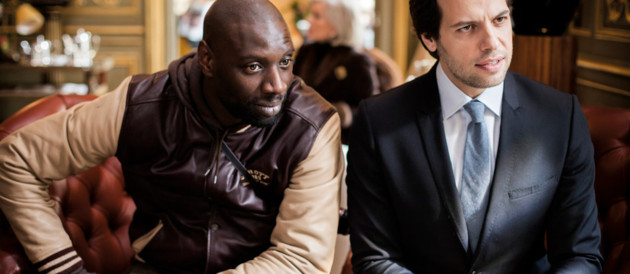 Omar Sy et Laurent Lafitte dans le film De l&#039;autre ct du priph&#039; de David Charhon