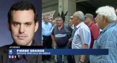"""Référendum : """"Les Grecs pris à la gorge"""""""