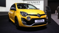 Renault Twingo au Salon de Francfort 2011