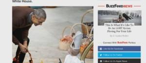 Barack Obama avec un pape miniature.
