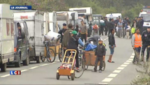 """Evacuations de roms : les associations dénoncent une """"expulsion déguisée"""""""
