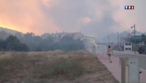 Incendie en Espagne : images-amateur spectaculaires