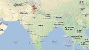 L'Etat du Penjab, en Inde
