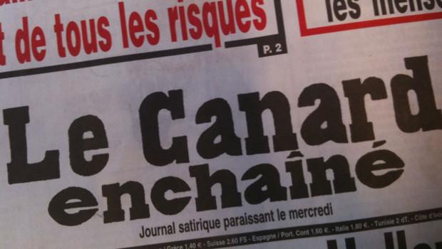 Le journal Le Canard Enchaîné