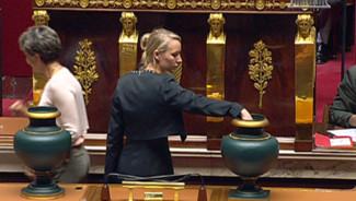 Marion Maréchal-Le Pen à l'Assemblée