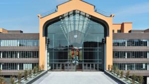 La Cité du Cinéma : Vue extérieure de la Nef après travaux