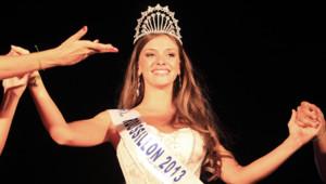 Norma Julia a été élue miss Roussillon dimanche 11 août 2013 au Barcarès