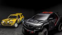 Peugeot 2008 DKR, buggy deux roues motrices engagé dans l'édition 2015 du Dakar
