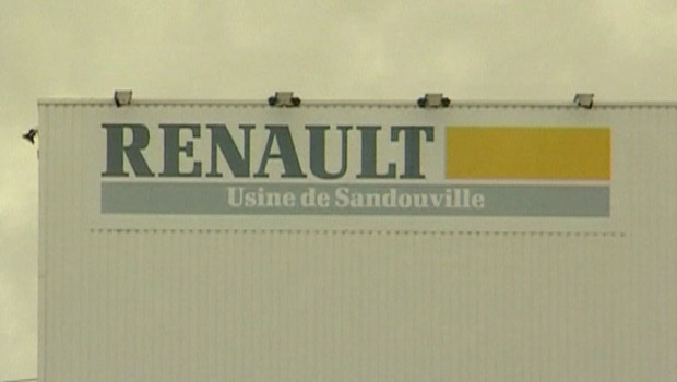 Usine Renault de Sandouville.