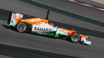 Force India Hulkenberg Tests F1 Barcelone F1 2012 03