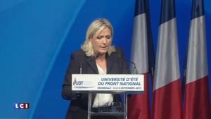 "Marine le Pen : ""Je mettrai l'islam radical à genoux"""