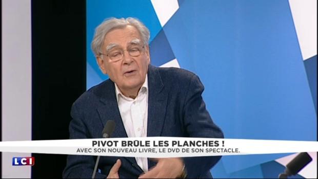 """Bernard Pivot : """"Pour lire, il faut avoir de bonnes fesses"""""""