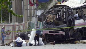 L'attentat perpétré à Karachi le 8 mai 2002 a fait 15 morts, dont 11 Français employés de la DCN.