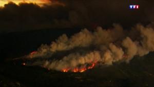 Le 20 heures du 13 septembre 2015 : Californie : 40.000 hectares ravagés par les flammes, des milliers de personnes évacués - 904