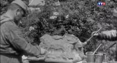 Le 20 heures du 22 août 2014 : Premi� Guerre mondiale : des peintres camoufleurs �%u2019aide des soldats - 1547.767753967285