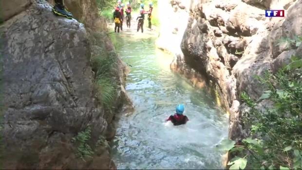 Le canyoning : des sensations mais pas trop