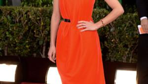 Marion Cotillard à son arrivée à la cérémonie des Golden Globes 2013