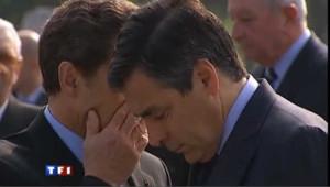 Nicolas Sarkozy et François Fillon le 14 novembre 2010.