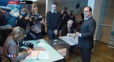 Départementales : François Hollande a voté dans son fief de Tulle
