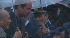 Prince William au Japon