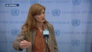 Samantha Power, ambassadriceaméricaine à l'Onu