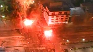 Violentes manifestations après l'annonce de la mort de Pinochet